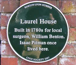 Laurel House Plaque