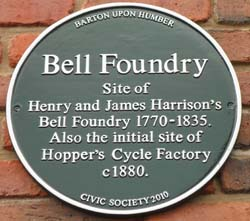 Bell Foundry Plaque