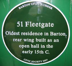 Fleetgate Plaque