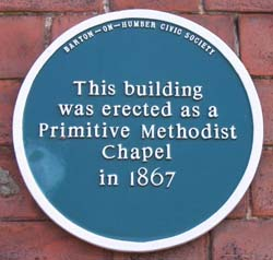 Primative Church Plaque