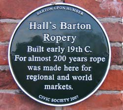 Ropewalk Plaque