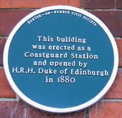 Coastguard Station Plaque