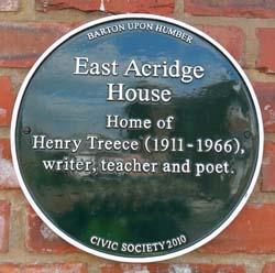 East Acridge House Plaque