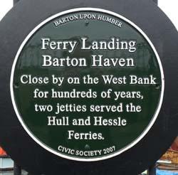 Ferry Jetty Plaque