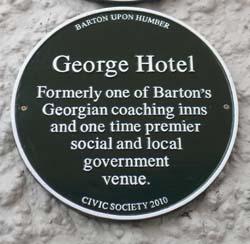George Hotel Plaque