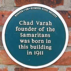 Chad Varah Plaque