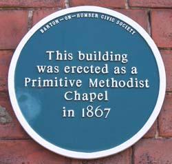 Primative Church Plaque